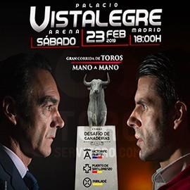 23/02 Vistalegre (18:00) Toros