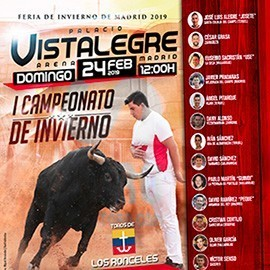 17/02 Vistalegre (18:00) Toros