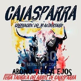 Abono Calasparra (30 Julio + Septiembre 3-8) 7 festejos