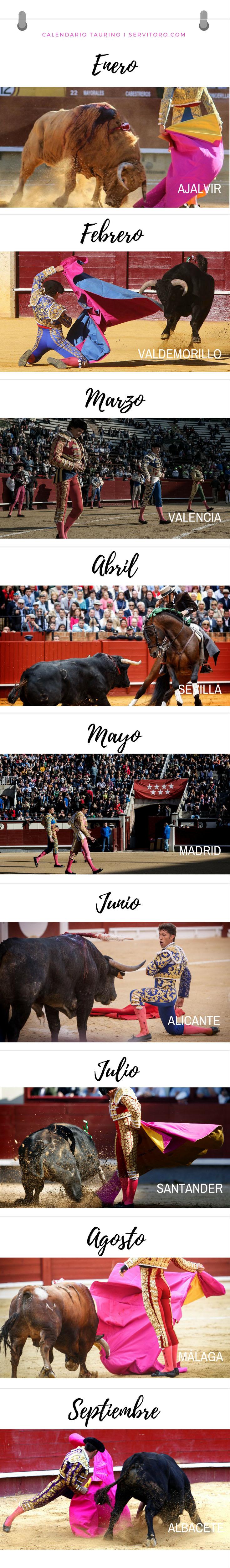 Calendario Taurino. Toda la programación taurina de Madrid