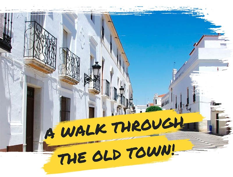 A walk though the old town