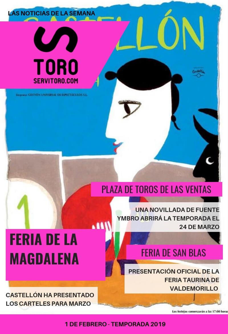 Actualidad Taurina: Feria de la Magdalena