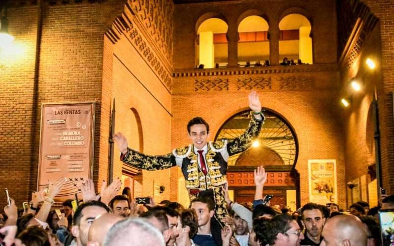 Alvaro Burdiel, winne Las ventas contest 2019