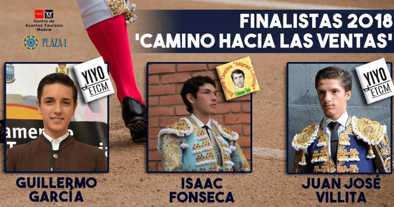 Finalistas del 'Camino hacia Las Ventas'