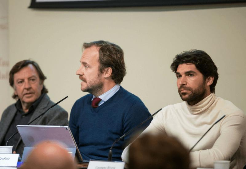Curro Vázquez y Cayetano en Las Ventas