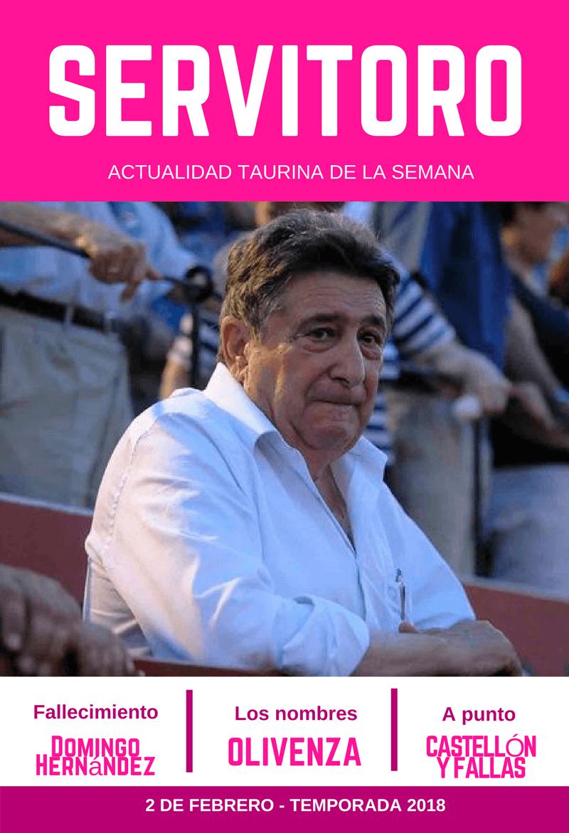 Fallece Domingo Hernández