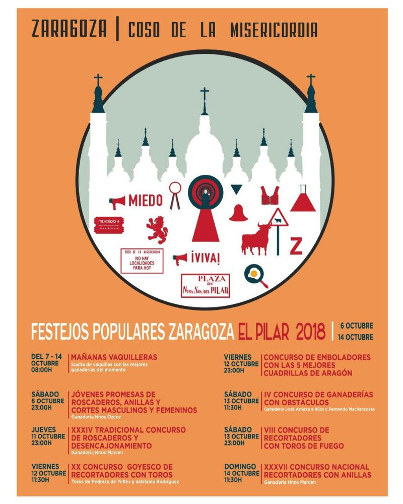 Festejos Populares de la Feria del Pilar
