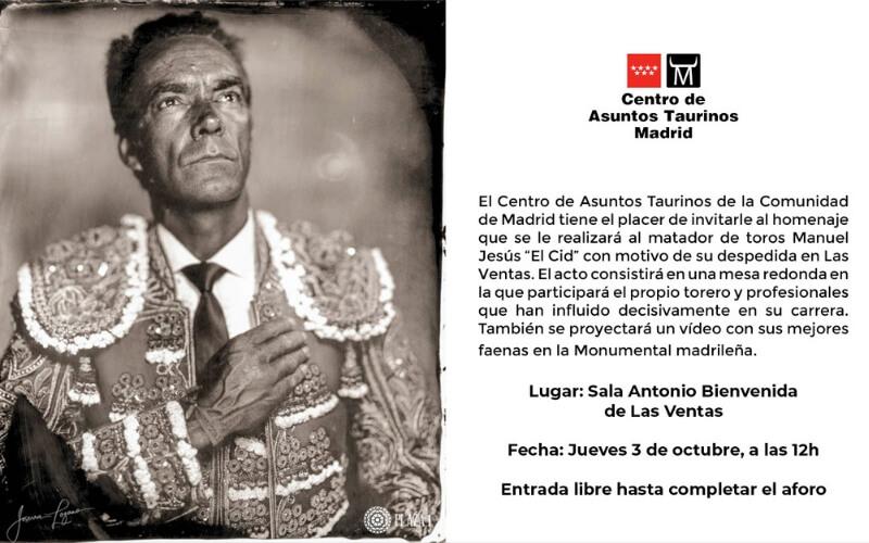 Triubute to El Cid in Las Ventas