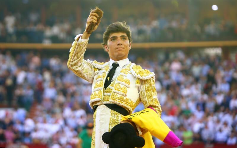 Jorge Isiegas matador de toros