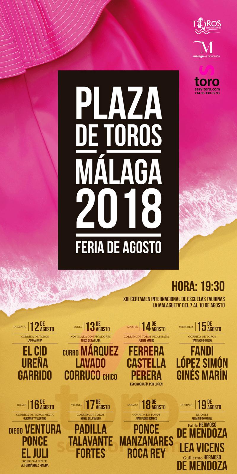 Málaga Bullfighting Fair