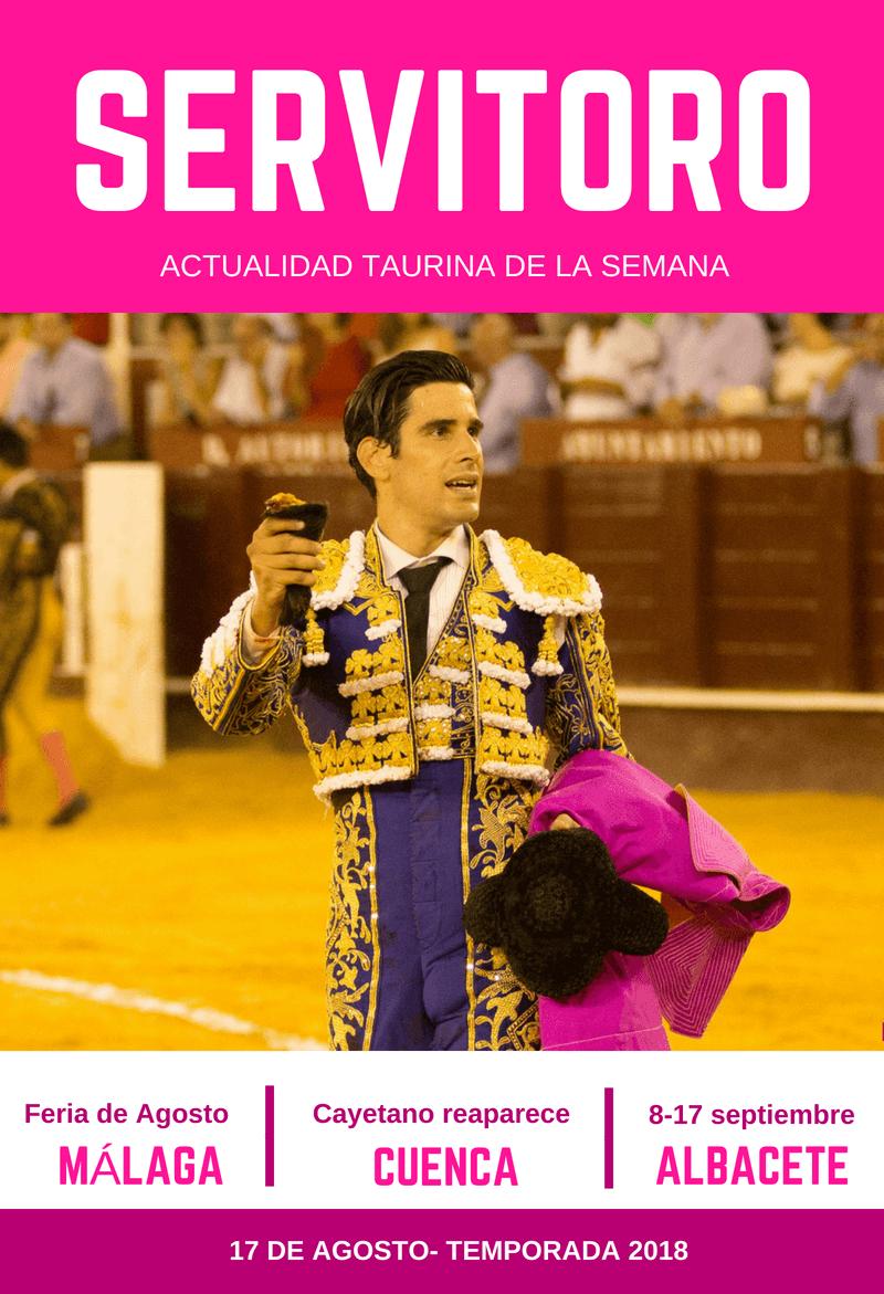 López Simón en la Feria de Málaga 2018
