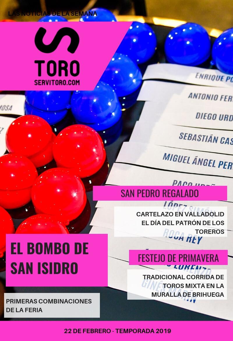 Noticias taurinas de la semana: los nombres de San Isidro