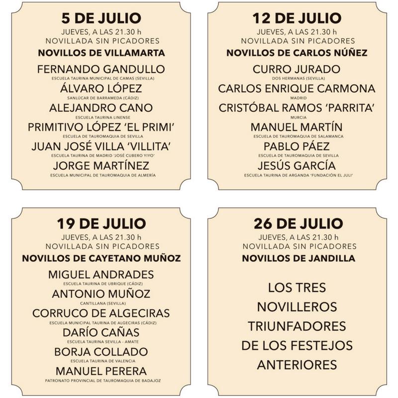 Novilladas en Sevilla