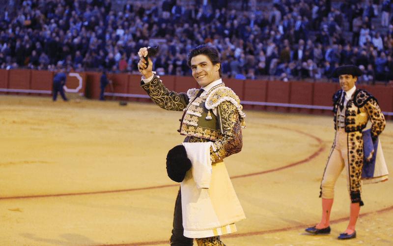 Pablo Aguado en La Maestranza