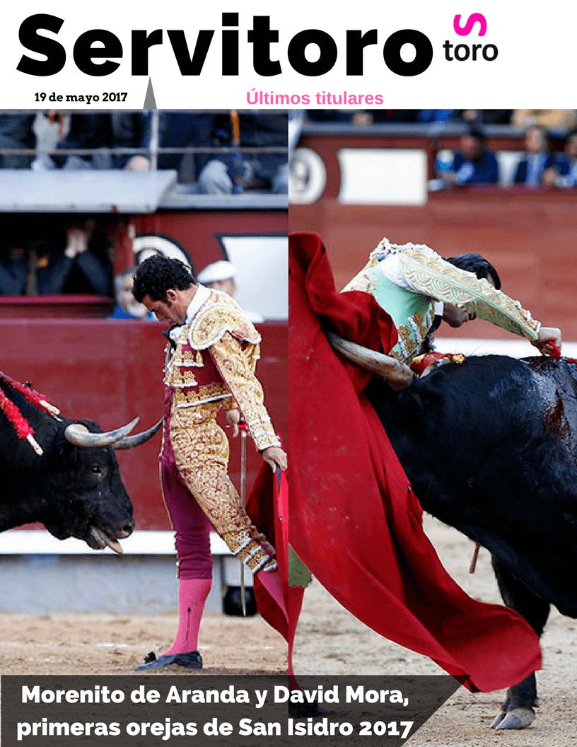 Morenito y David Mora enSan Isidro.