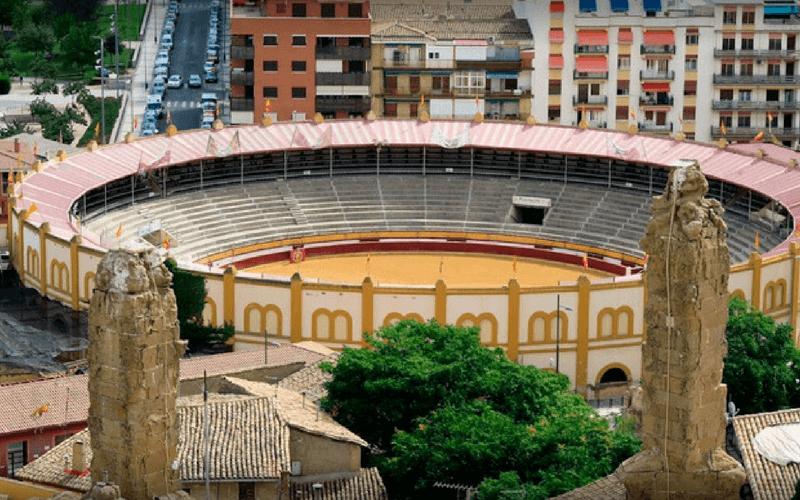 Plaza de Toros de Huesca.