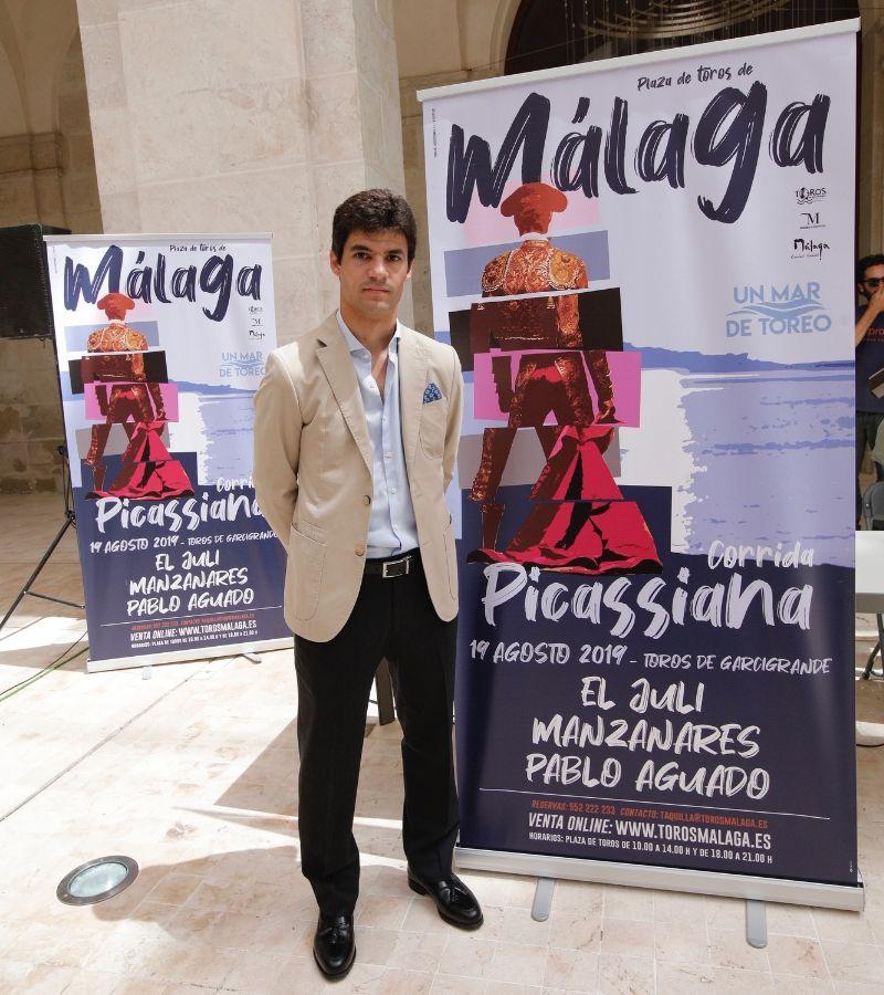 Pablo Aguado at the Picassian Bullfight