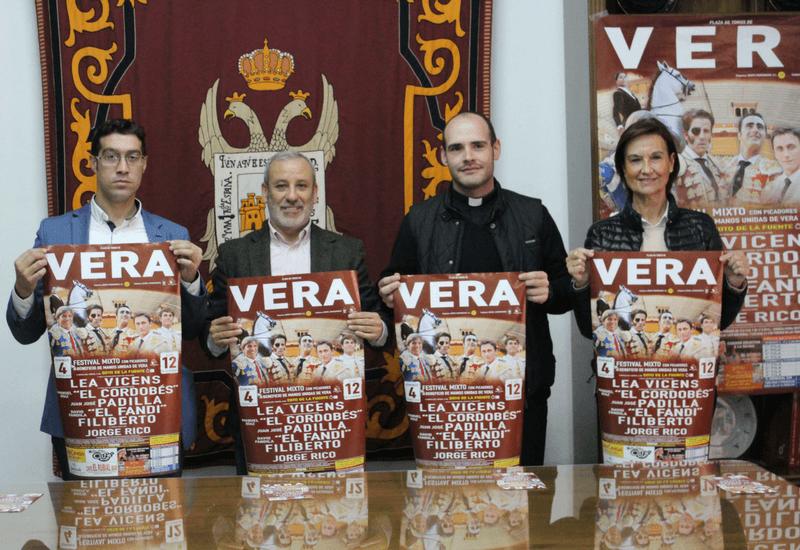 Presentación del festival de Vera.