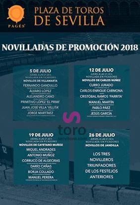 Entradas Toros Sevilla, temporada 2018. Comprar entradas