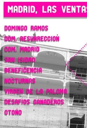 Entradas para las mejores corridas de toros de Madrid 2019