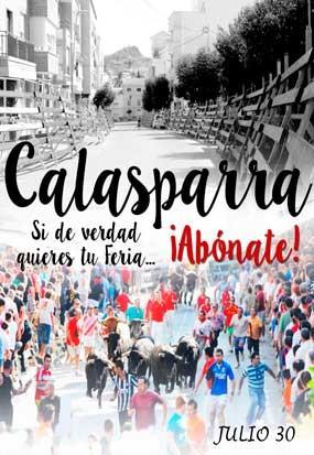Feria Taurina en Calasparra, Murcia.