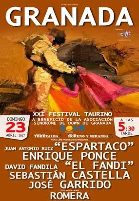 Festival taurino a Beneficio de Asociación Sindrome de Dawn de Granada