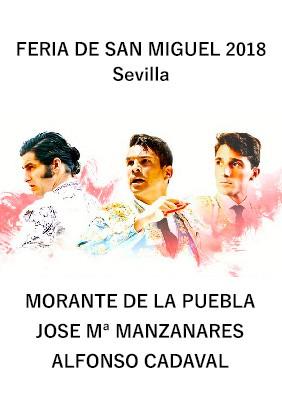 Morante - Jose María Manzanares - Alfonso Cadaval