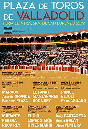 Buy now your bullfight tickets for september in Valladolid