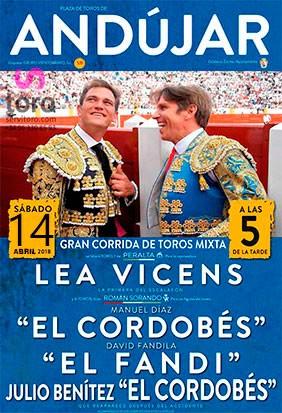 Bullfighting fair in March. Andújar (Jaén).