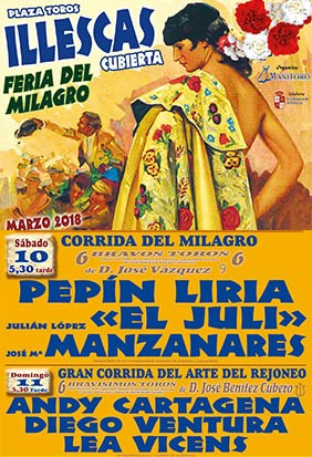 Buy bullfight tickets Illescas 2018