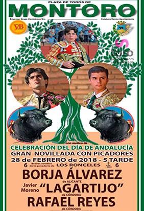 Celebración día de Andalucía en Montoro, Córdoba 2018