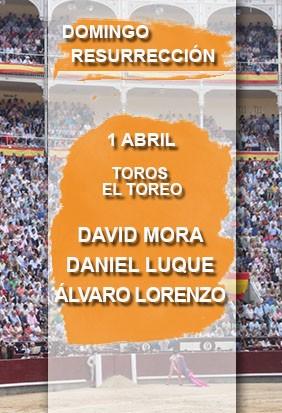 Comprara entradas toros Domingo Resurrección. Madrid