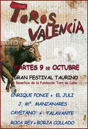 Bullfight in Valencia October