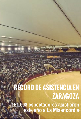 Récord de asistencia en Zaragoza