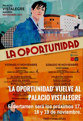 'La Oportunidad' vuelve al Palacio Vistalegre