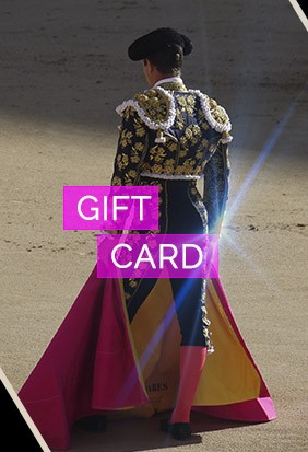 Bullfighting gift card 2019