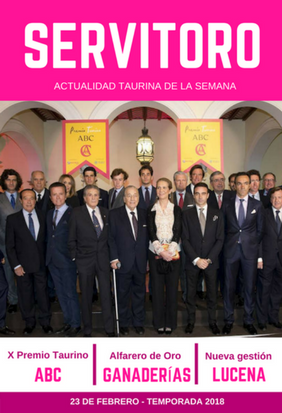 Actualidad semanal: X Premio Taurino ABC