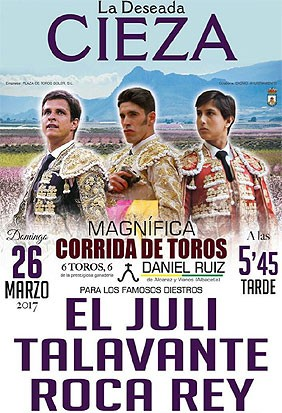 Compra ya tus entradas para Cieza (Murcia)
