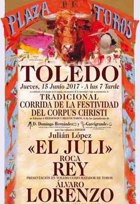 entradas plaza de toros del corpus de Toledo.