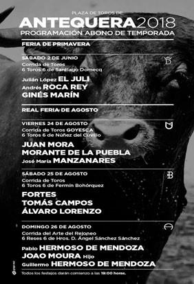 Compre entradas toros Real Feria de Agosto en Antequera, Málaga.