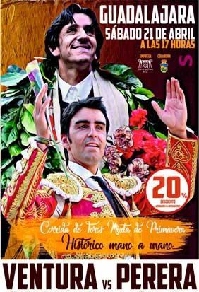 Bullfight tickets Guadalajara, April 2018