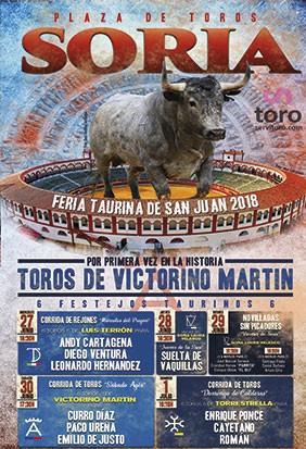 Compre entradas para festejo taurino en Soria - Junio