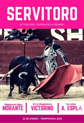 Actualidad semanal: Morante regresa en Jerez