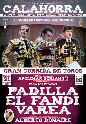 Feria Taurina en honor de San Emeterio y San Celedonio 2017