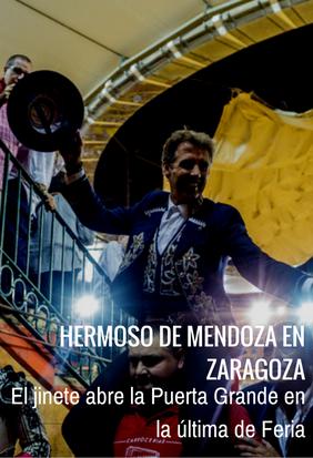 Puerta Grande de Hermoso de Mendoza