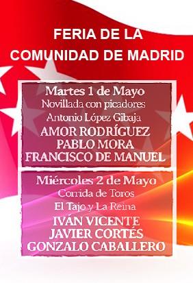 Entradas Toros Feria de la Comunidad de Madrid