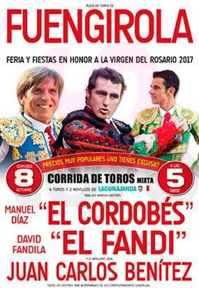 Buy tickets to see great Bullfighting show in Fuengirola, Málaga