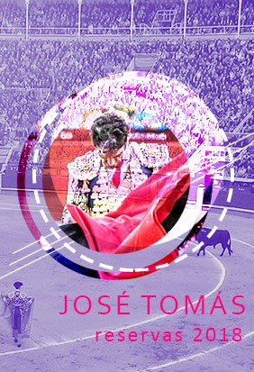 """Book tickets for a performance of """"Jose Tomas"""" in 2018"""