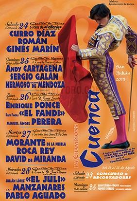 Get tickets Cuenca 2019
