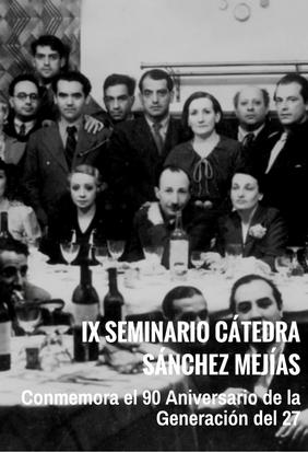 IX Seminario de la Cátedra Sánchez Mejías en Sevilla